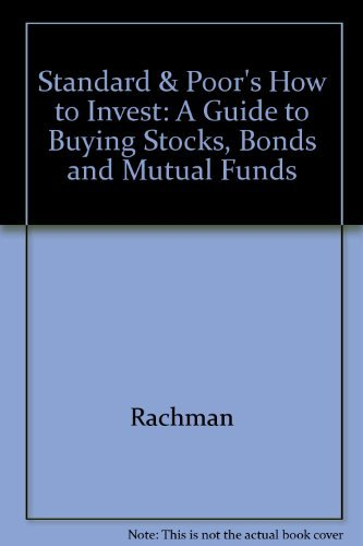 9780070513372: Standard and Poor's How to Invest: A Guide for Buying Stocks, Bonds and Mutual Funds
