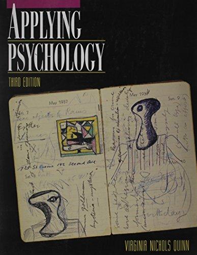 9780070513396: Applying Psychology