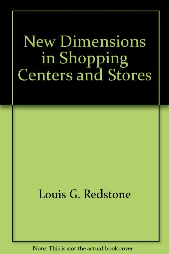 9780070513686: New dimensions in shopping centers and stores