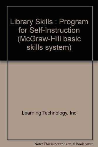 9780070513761: Library Skills : Program for Self-Instruction