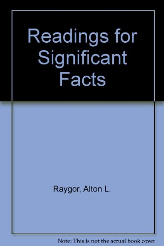 9780070513808: Reading for Significant Facts (McGraw-Hill Basic Skills System)