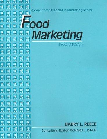 9780070514997: Food Marketing (Career competencies in marketing series)
