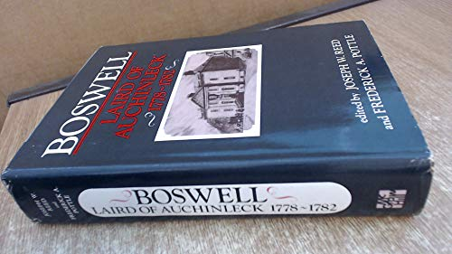 9780070515208: Boswell: Laird of Auchinleck, 1778-1782