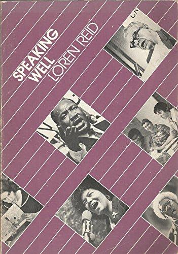 9780070517844: Speaking Well (McGraw-Hill series in speech)