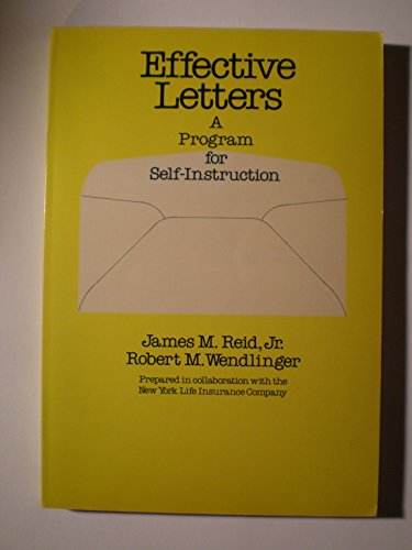 9780070518179: Effective Letters: A Program for Self-Instruction