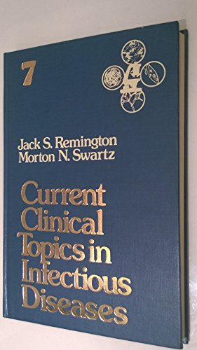 9780070518599: Current Clinical Topics in Infectious Diseases: v. 7