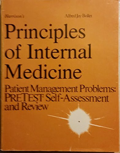 9780070519299: Harrison's Principles of Internal Medicine: Patient Management Problems : Pre Test Self-Assessment and Review