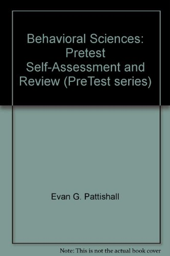 9780070519411: Behavioral sciences: PreTest self-assessment and review