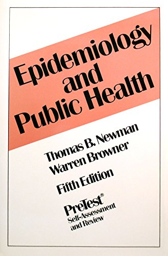 9780070519725: Epidemiology and Public Health: Pretest Self-Assessment and Review (Clinical Science Series)