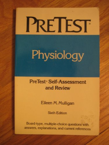 9780070519787: Physiology: Pretest Self-Assessment and Review (Pretest Series)