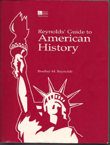 9780070520516: Reynolds' Guide to American History