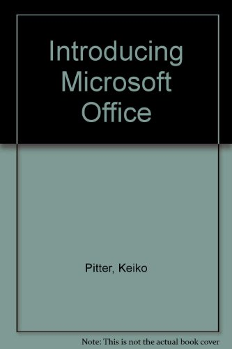 9780070520684: Introducing Microsoft Office