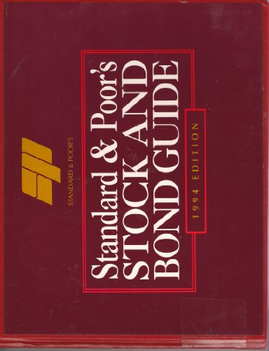 9780070520974: Standard & Poor's Stock and Bond Guide 1994