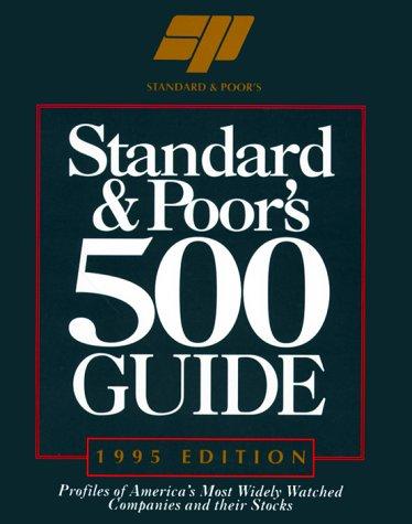 9780070520998: Standard & Poor's 500 Guide: 1995