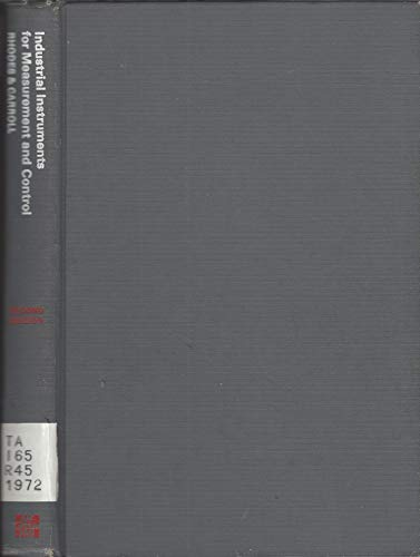 9780070521216: Industrial Instruments for Measurements and Control