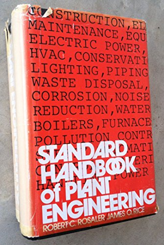9780070521605: Standard handbook of plant engineering