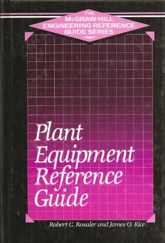 9780070521636: Plant Equipment Reference Guide (The Mcgraw-Hill Engineering Reference Guide Series)