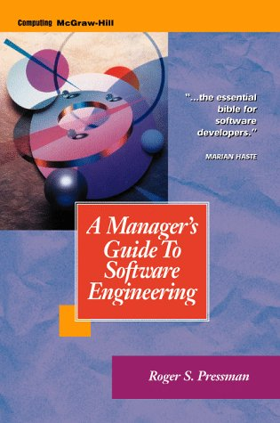 9780070522299: A Manager's Guide to Software Engineering