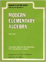 Modern Elementary Algebra: B. R. Rich