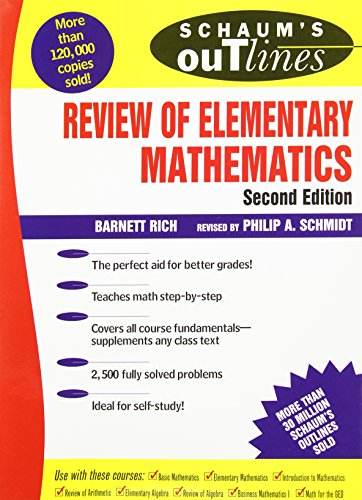 9780070522794: Schaum's Outline of Review of Elementary Mathematics