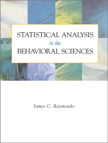9780070522831: Statistical Analysis in the Behavioral Sciences