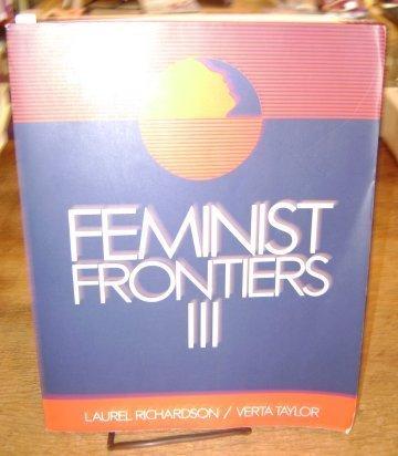9780070522985: Feminist Frontiers III