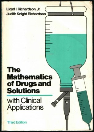 9780070523142: Mathematics of Drugs and Solutions with Clinical Applications
