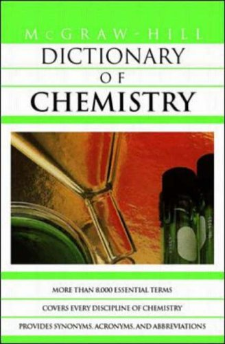 9780070524286: McGraw-Hill Dictionary of Chemistry