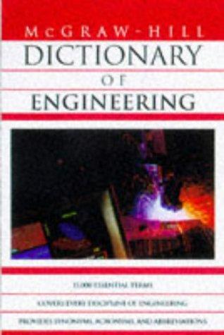 9780070524354: Dictionary of Engineering