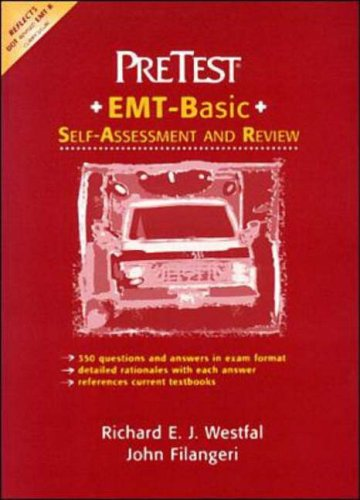 9780070524934: Emergency Medical Technician: PreTest Self-Assessment and Review