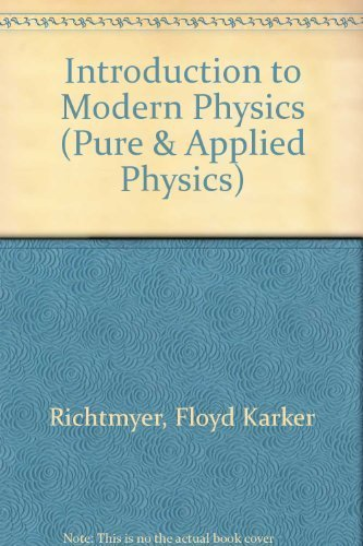 9780070525061: Introduction to Modern Physics, 6th Edition
