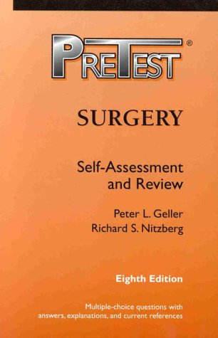 9780070525337: Surgery: PreTest(REG) Self-Assessment and Review, 8/e