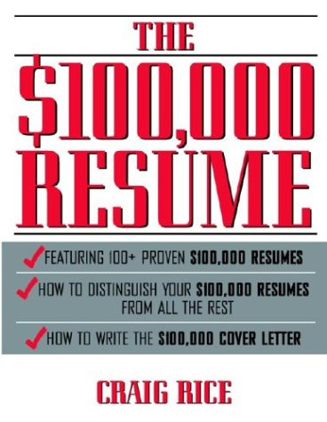 9780070525863: The $100,000 Resume