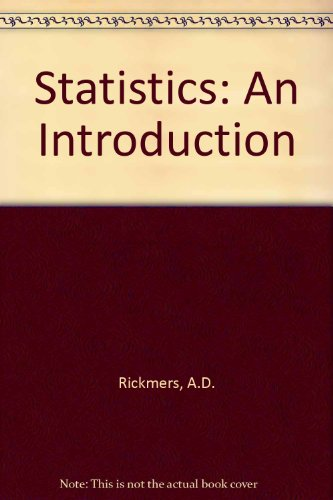 9780070526167: Statistics: An Introduction