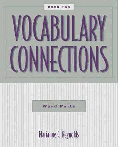 9780070526297: Vocabulary Connections: Word Parts,  Book 2