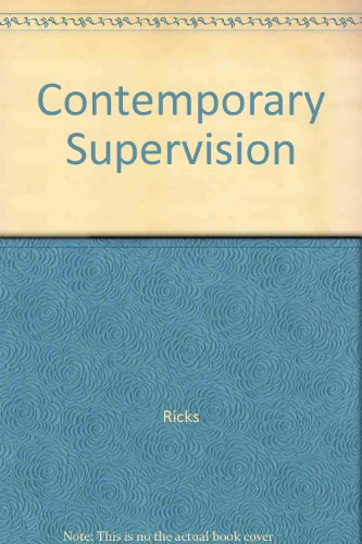 9780070526501: Contemporary Supervision