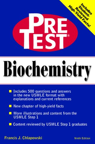 9780070526846: Pre-test Self-assessment and Review: Biochemistry (Delete (PreTest: Basic Sciences))
