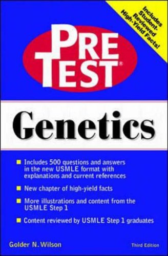9780070526853: Pre-test Self-assessment and Review: Genetics (Delete (PreTest: Basic Sciences))