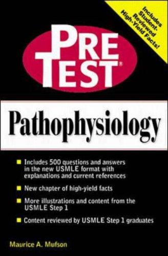 9780070526921: Pathophysiology: PreTest Self-Assessment & Review (Pretest Basic Science Series)