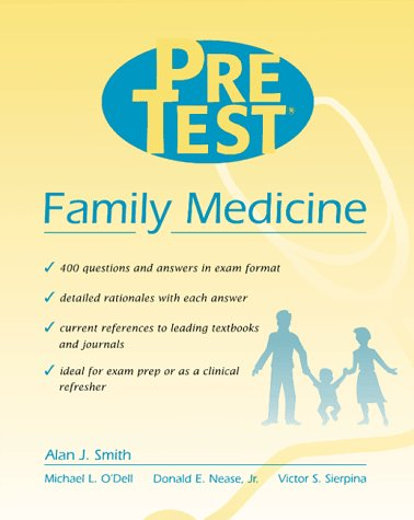 9780070526952: Family Medicine: Pretest Self-Assessment and Review (Pretest Series)