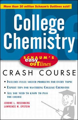 9780070527140: Schaum's Easy Outlines: College Chemistry (Schaum's Easy Outlines)