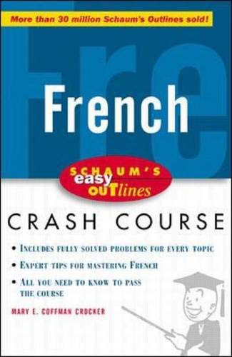 9780070527157: Schaum's Easy Outline of French: Based on Schaum's Outline of French Grammar and French Vocabulary (Schaum's Easy Outlines)