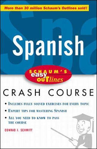 9780070527164: Schaum's Easy Outline of Spanish (Schaum's Easy Outlines)