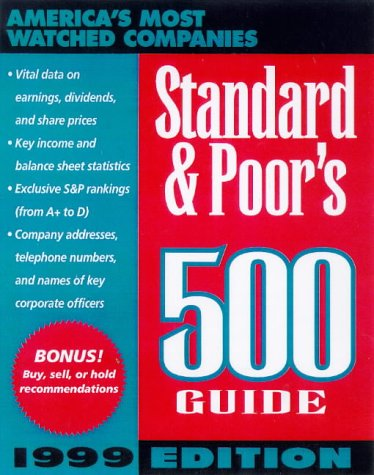 9780070527645: Standard & Poor's 500 Guide: 1999 (Standard and Poor's 500 Guide)