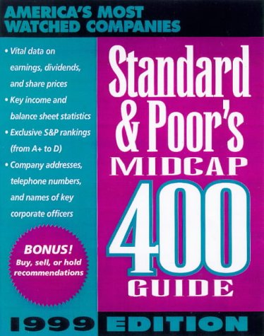 9780070527652: Standard & Poor's Midcap 400 Guide: 1999 Edition (Serial)