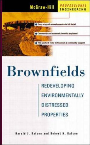 9780070527683: Brownfields: Redeveloping Environmentally Distressed Properties: Redeveloping Distressed Properties (McGraw-Hill Professional Engineering)