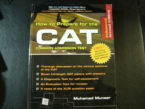9780070528468: How to Prepare for the CAT (Common Admission Test) (CAT, Muneer)