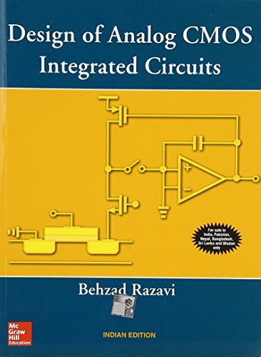 9780070529038: Design of Analog CMOS Integrated Circuits - India Edition