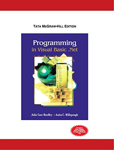 9780070529090: Programming in Visual Basic.net (International Ed)