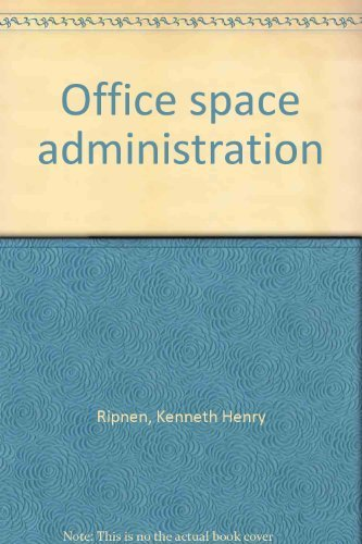9780070529366: Office space administration